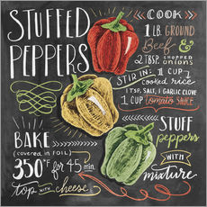 Gallery print  Stuffed peppers recipe - Lily & Val