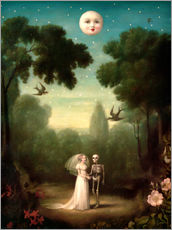 Naklejka na ścianę  The dowry of the moon - Stephen Mackey