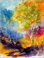 Gallery print  Autumn tree - Pol Ledent