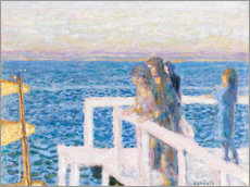 Gallery print  The dock in Cannes - Pierre Bonnard