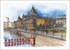 Gallery print  Leipzig Federal Administrative Court - Hartmut Buse