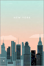 Gallery print  Illustration of New York - Katinka Reinke