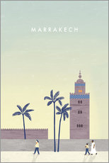 Naklejka na ścianę  Marrakesh illustration - Katinka Reinke