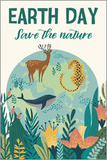 Gallery print  Nature conservation design - Kidz Collection