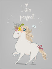 Gallery print  Perfect little unicorn - Kidz Collection