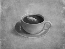 Gallery print  Whale in a teacup - Terry Fan