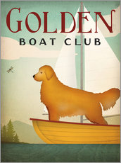 Gallery print  Golden Boat Club - Ryan Fowler