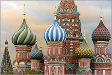 Gallery print  St. Basil's Cathedral in Moscow - Miles Ertman