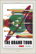 Naklejka na ścianę  The Grand Tour (Space Travel)