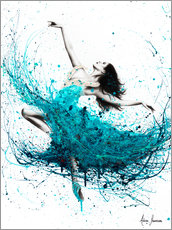 Plakat Ballerina Waves