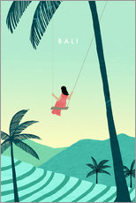 Plakat  Illustration of Bali - Katinka Reinke