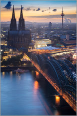 Plakat Evening in Cologne