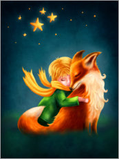 Gallery print  The Little Prince and The Fox - Elena Schweitzer