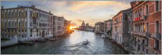 Plakat Grand Canal in Venice