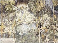 Plakat Fairy Midsummer Night's Dream