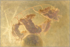 Obraz na drewnie  Dance of the hours - Gaetano Previati
