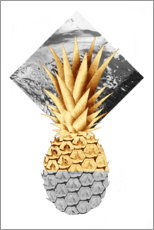 Plakat Golden pineapple