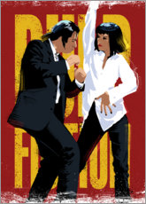 Plakat Taniec z Pulp Fiction