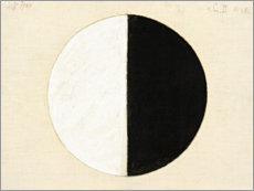 Obraz na drewnie  No. 1. Starting Picture, Series II - Hilma af Klint