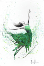 Plakat Green dancer