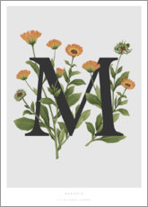 Plakat M is for Marigolds