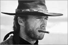 Gallery print  Clint Eastwood