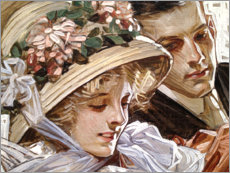 Obraz na płótnie  Togetherness - Joseph Christian Leyendecker