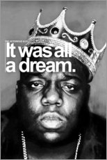 Gallery print  The Notorious B.I.G. - Celebrity Collection