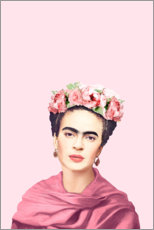 Gallery print  Homage an Frida - Celebrity Collection