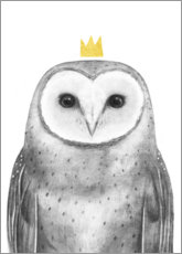 Gallery print  Royal owl - Victoria Borges