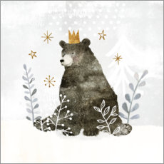 Plakat King Bear in the far north