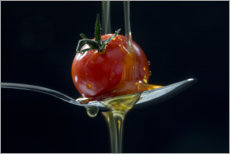 Plakat Tomato and olive oil