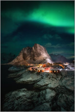 Plakat Northern lights in Norway