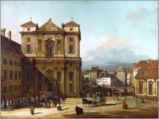 Plakat  The Freyung in Vienna - Bernardo Bellotto (Canaletto)