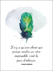Plakat Fear of failure (French)