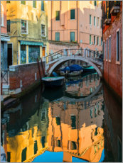 Plakat Colorful alleys of Venice