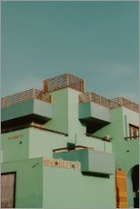 Plakat Architecture in Los Angeles