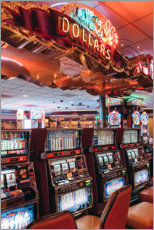 Obraz na płótnie  Slot machines in Las Vegas - TBRINK