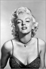 Obraz na aluminium  Marilyn Monroe - sexy portrait - Celebrity Collection