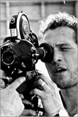 Gallery print  Paul Newman with camera - Celebrity Collection