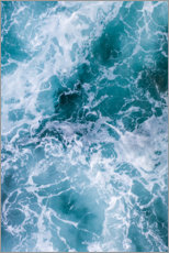 Gallery print  Deep blue waves - Ulrich Beinert