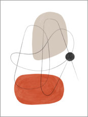 Gallery print  Abstract composition III - Nouveau Prints