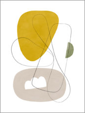 Gallery print  Abstract Composition I - Nouveau Prints