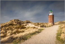 Plakat Lighthouse on the Red Cliff, Sylt