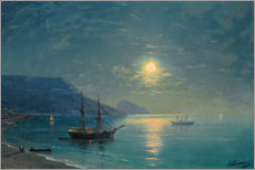 Obraz na płótnie  Evening in the Crimea - Ivan Konstantinovich Aivazovsky
