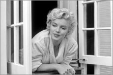 Gallery print  Marilyn Monroe - window scene - Celebrity Collection