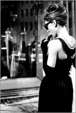 Gallery print  Croissant Scene - Breakfast at Tiffany's - Celebrity Collection