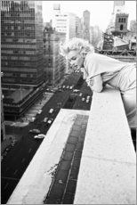 Obraz na drewnie  Marilyn Monroe in New York - Celebrity Collection