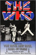 Obraz na szkle akrylowym  The Who - Hall of Fame - Entertainment Collection