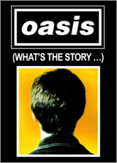 Naklejka na ścianę  Oasis - What's The Story - Entertainment Collection